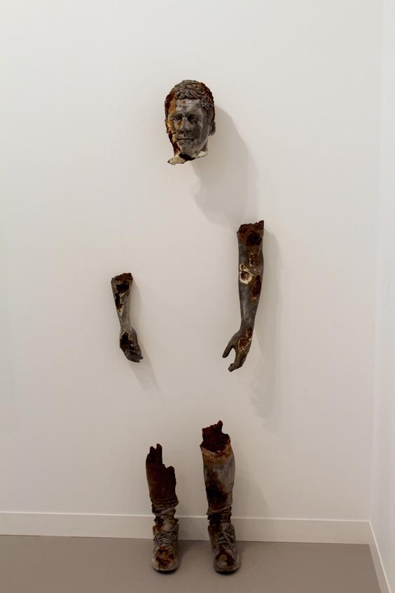 Daniel-Arsham-at-Galerie-Perrotin,-Frieze-London-2015,-photo-Guy-Sangster-Adams