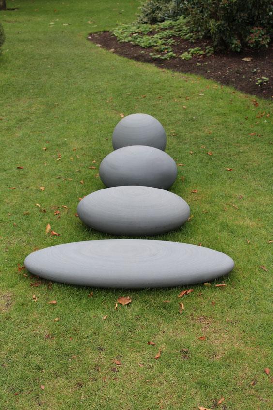 Dominique-Stroobant,-La-Sfera-Schiacciata-III,-Frieze-Sculpture-Park,-Freize-London-2105,-photo-Guy-Sangster-Adams