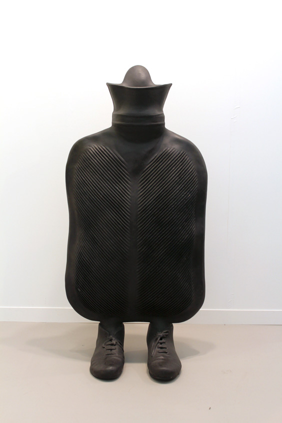 Erwin-Wurm-at-Galerie-Thaddaeus-Ropac,-Frieze-London-2015,-photo-Guy-Sangster-Adams