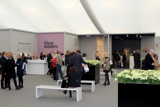 Frieze-Masters-2015,-reception-area,--Frieze-London-2015,-photo-Guy-Sangster-Adams