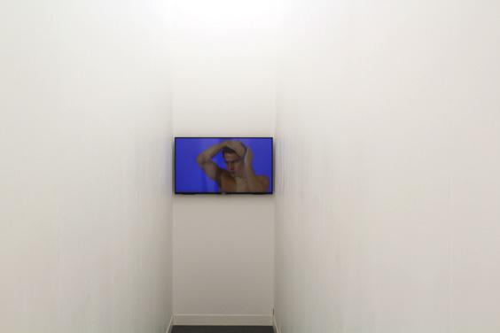 Ken-Okiishi-at-Pilar-Corrias-(2),-Frieze-London-2015,-photo-Guy-Sangster-Adams