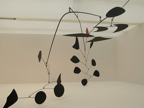 Nelly Nahmad Gallery- Alexander Calder 'Two Fish Tails'1975_564