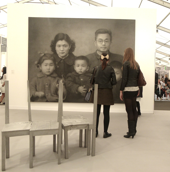 'Our Parents' by Zhang Huanwhitecube_564