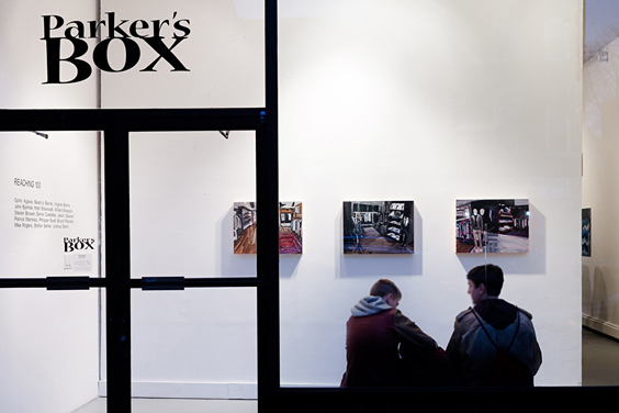 &quot;Reaching 100&quot; opening at Parker&#039;s Box