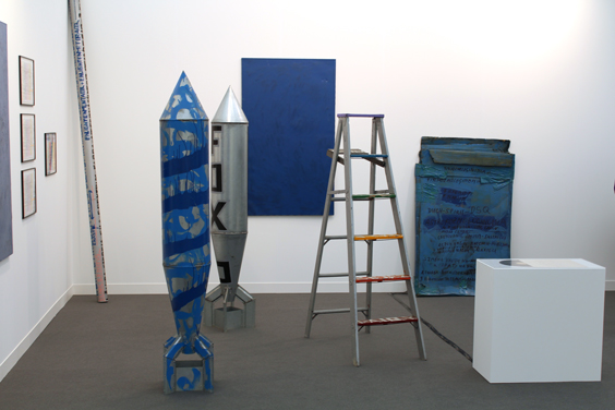 Stano-Filko-at-Galerie-Emanuel-Layr,-Frieze-Focus,-Frieze-London-2015,-photo-Guy-Sangster-Adams