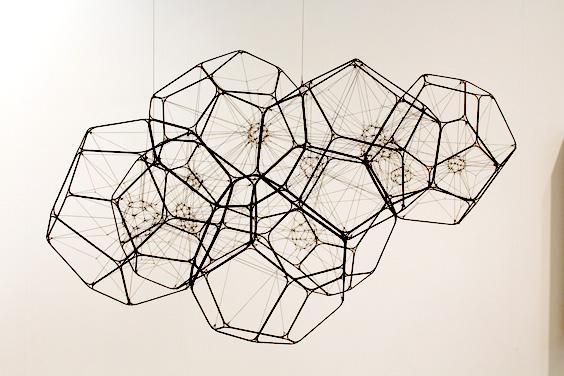 Tomas-Saraceno-at-Esther-Schipper,--Johnen-Galerie,-Freize-London-2015,-photo-Guy-Sangster-Adams