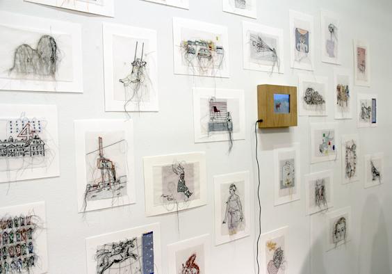 VOLTA2013_Vanessa Oppenhoff at  Galerie Julia Garnatz, Cologne